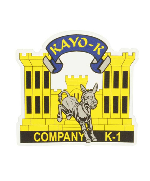 Texas A&M Corps of Cadets K-1 Car Decal