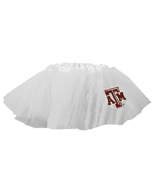 Texas A&M Aggies White 5 Layer Baby Tutu