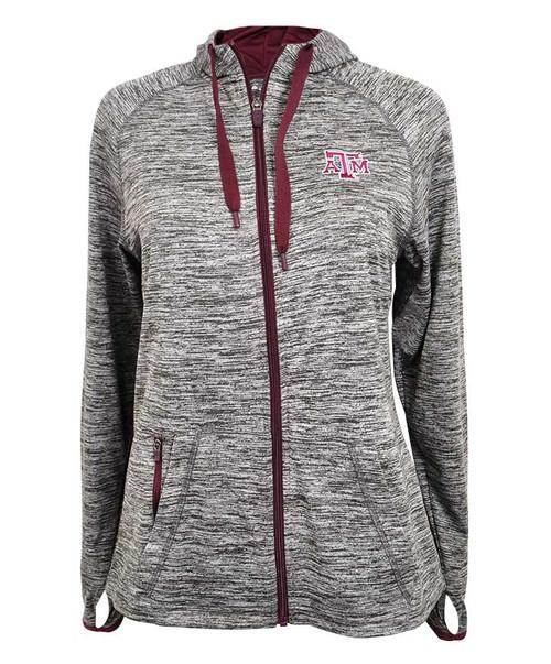 Texas A&M Aggies Ladies Logo Force Gray/Maroon Jacket