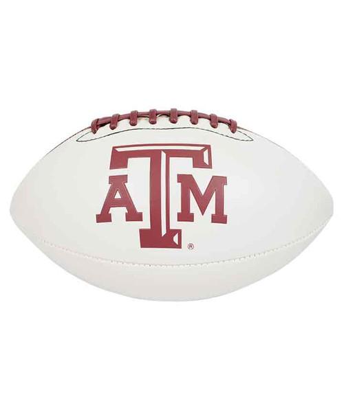 Texas A&M Full Size Autograph Football