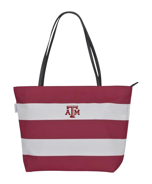 Texas A&M Aggies Gameday Rugby Striped Tote