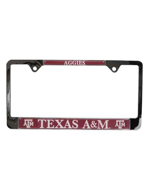Texas A&M Aggies Standard License Plate Frame