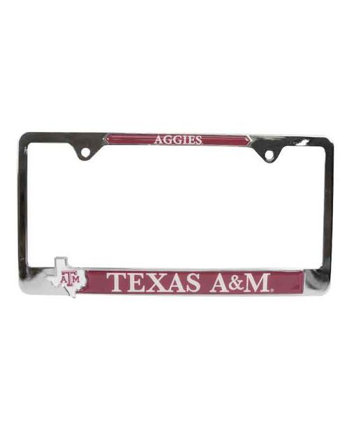 Texas A&M Aggies State Pride License Plate Frame