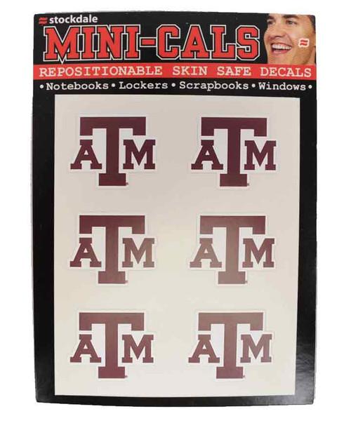 Texas A&M Aggies Logo Face Decals