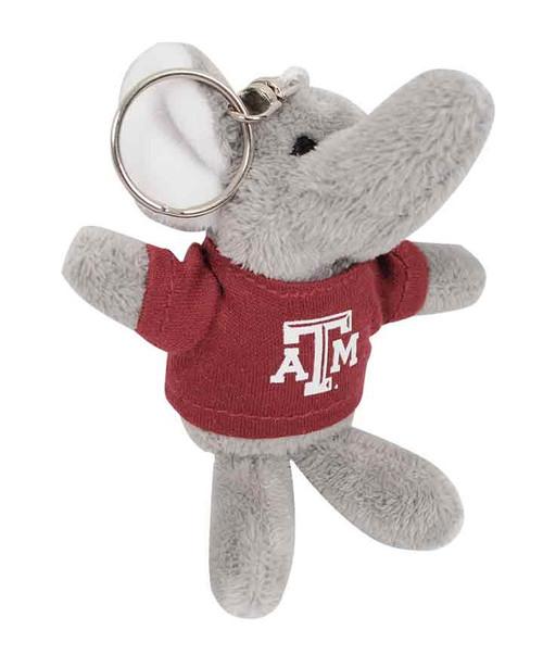 "Texas A&M Aggies 4"" Elephant Keychain"