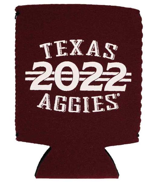 Texas A&M Aggies Class Of 2022 Maroon Koozie