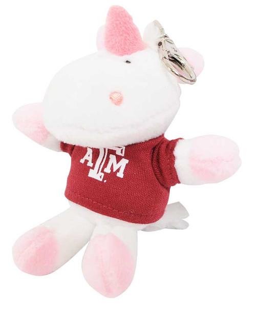 "Texas A&M Aggies 4"" Unicorn Keychain"