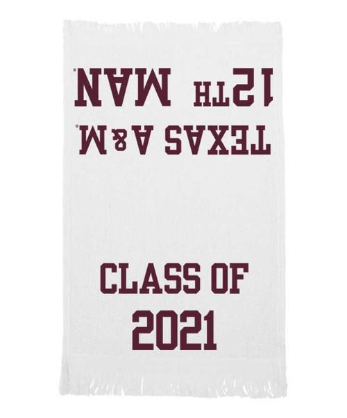 Texas A&M Aggies Class Of '21 Towel