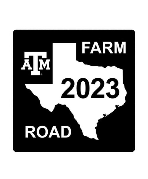 Texas A&M Aggies Class Of 2023 Aluminum Sign (IN-STORE PICK UP ONLY)