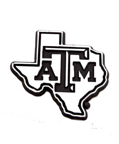 Texas A&M Lone Star Car Emblem