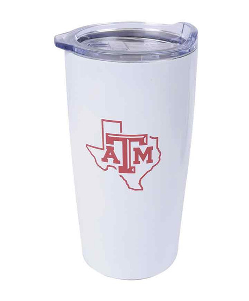 Texas A&M Aggies White Himalayan Tumbler