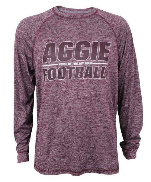 Maroon Home Of The 12TH Man Active Long Sleeve | Football Collection