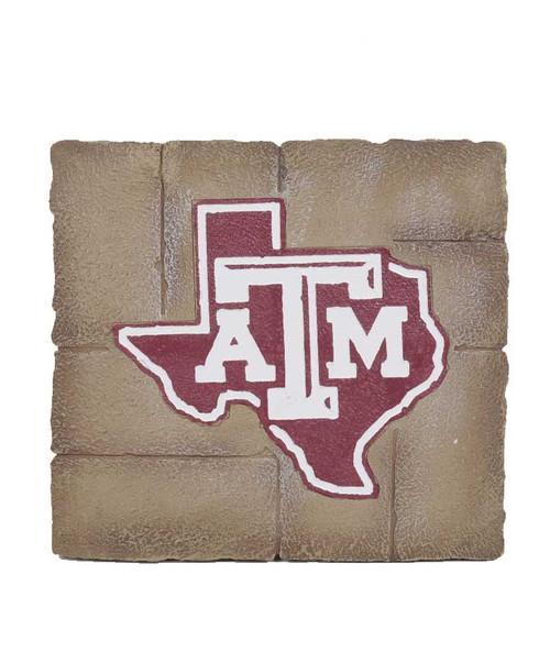 Texas A&M Aggies Maroon Garden Stone