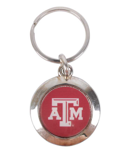 Texas A&M Aggies Prestige Round Keychain