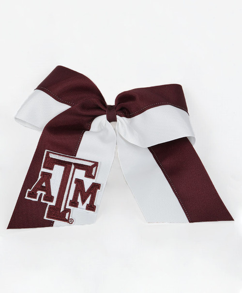 Texas A&M Aggies Cheer Bow