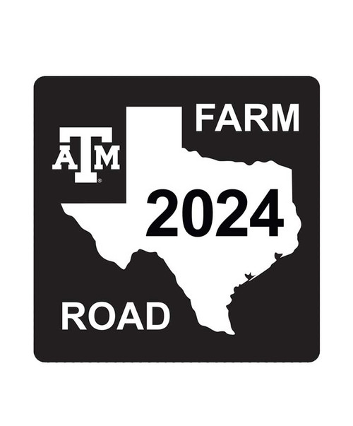 Texas A&M Aggies Class Of 2024 Aluminum Sign (IN-STORE PICK UP ONLY)