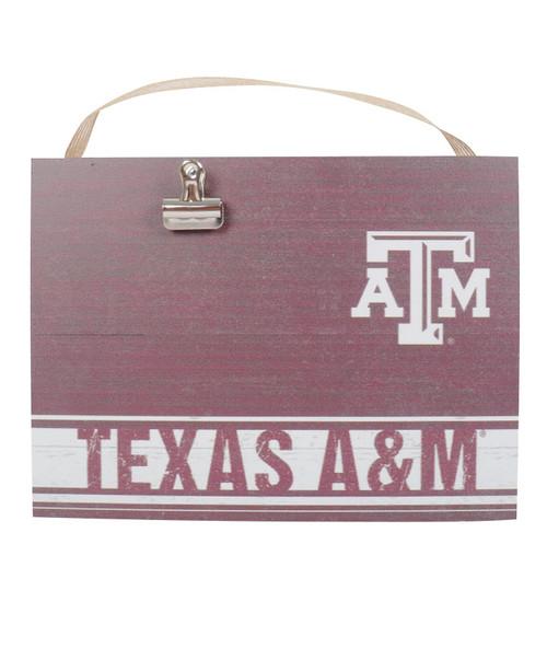 Maroon Texas A&M Clip It Frame