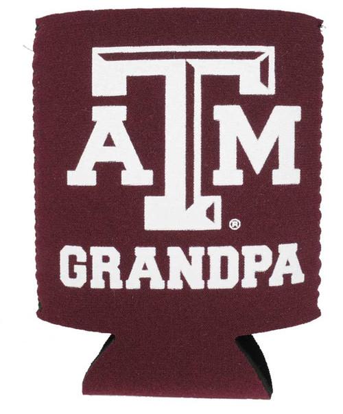 Texas A&M Grandpa Koozie - Maroon