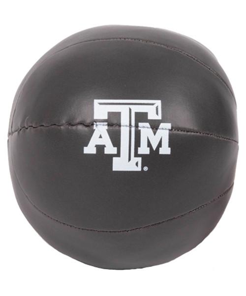 Texas A&M Aggies Logo Micro Soft Basketball - Charcoal