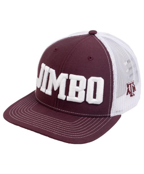 Texas A&M Aggies Jimbo Fisher Football Cap | Maroon & White