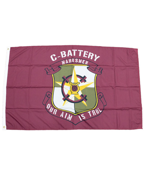 Texas A&M Corps of Cadets 3X5 C-BatteryFlag