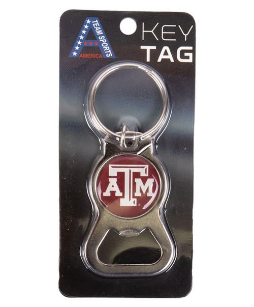 Texas A&M Bottle Opener Key Ring