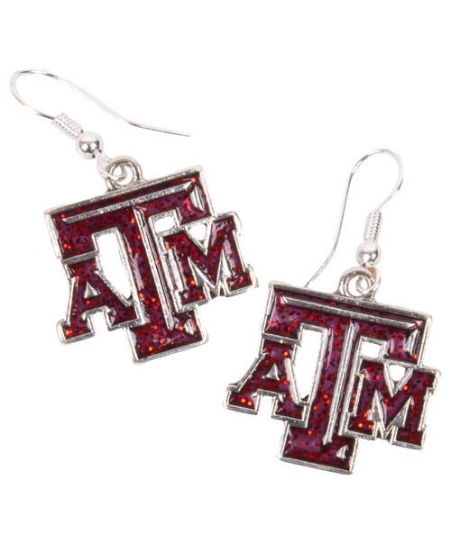Texas A&M Aggies Gameday Glitter Earrings