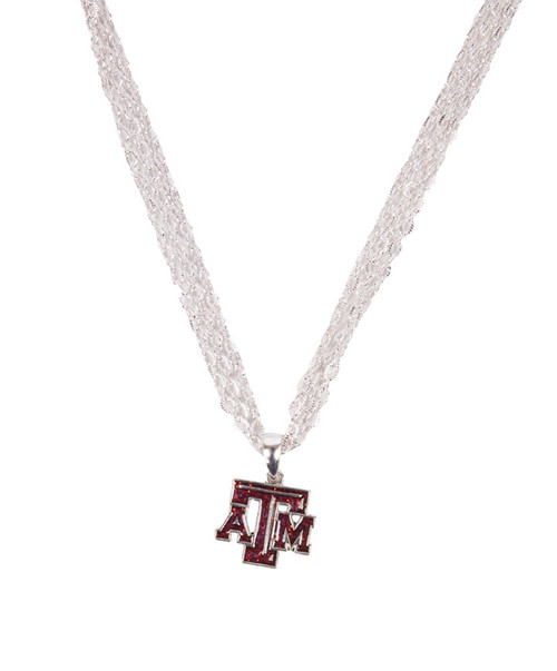 Texas A&M Aggies Gameday Glitter Necklace