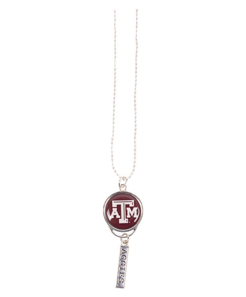 Aggies Rearview Mirror Charm