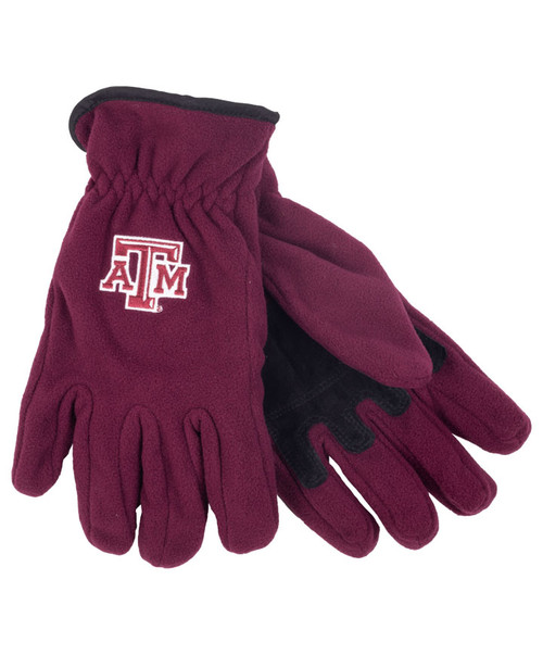 Texas A&M Aggies 3M Thinsulate Size Large Maroon Gloves
