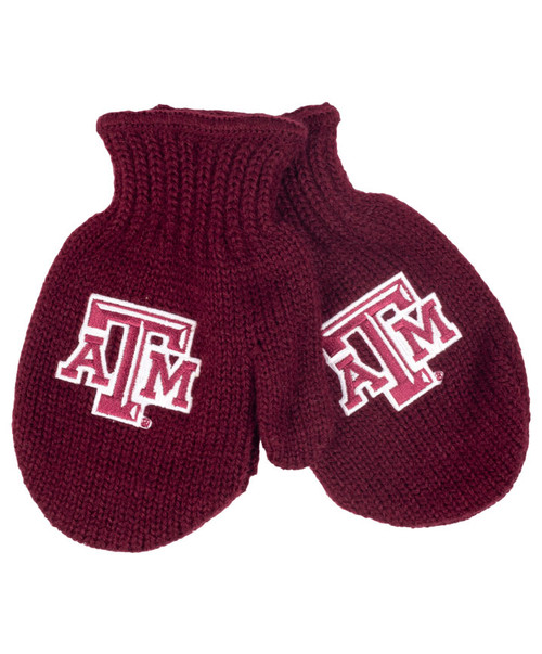 Texas A&M Aggies Toddler Eskimo Knit Mittens - Maroon