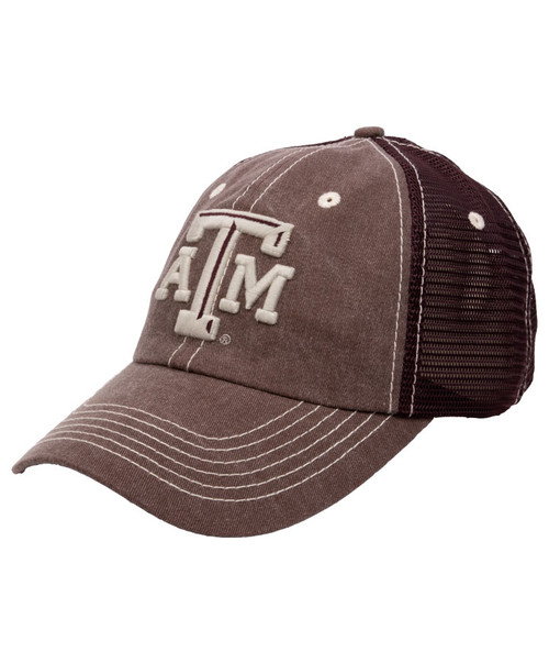 Maroon Home Of The 12th Man Trucker Cap