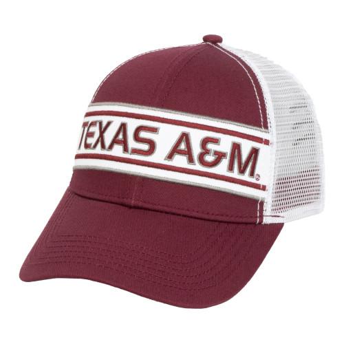 Maroon & White Texas A&M Aggies Cap