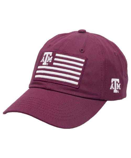 Texas A&M Aggies Flag Patch Cap - Maroon