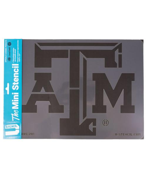 Texas A&M Aggies Logo Mini Stencil