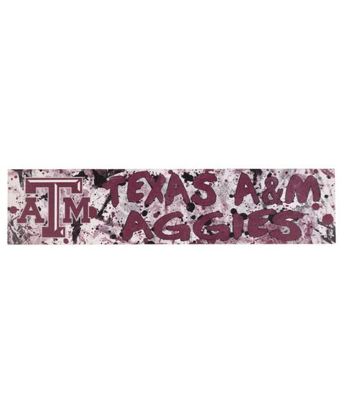 Texas A&M Aggies 3x13 Graffiti Sign