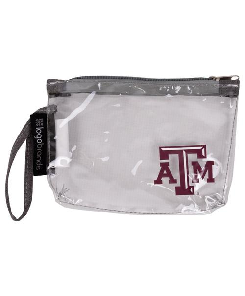 Texas A&M Aggies Clear Wristlet