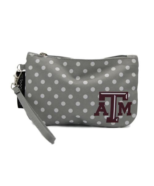 Texas A&M Aggies Dot Wristlet