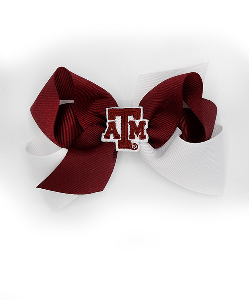 Texas A&M Aggies Classic Color Block Queen Bow