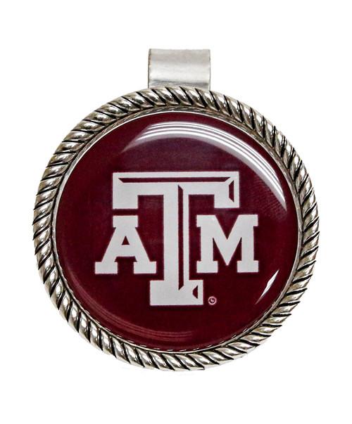 Texas A&M Aggies Rope Edge Visor Clip