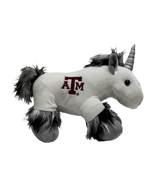 "Texas A&M Aggies 9.5"" Plush Unicorn | Black"