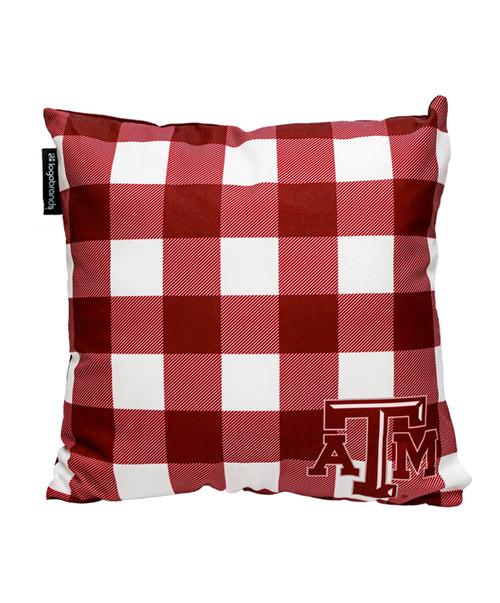Texas A&M Aggies 16inch Outdoor Pillow