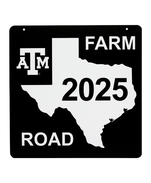 Texas A&M Aggies Class Of 2025 Aluminum Sign (IN-STORE PICK UP ONLY)