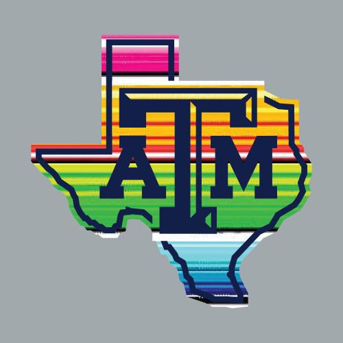 Texas A&M Aggies Serape Lonestar Decal