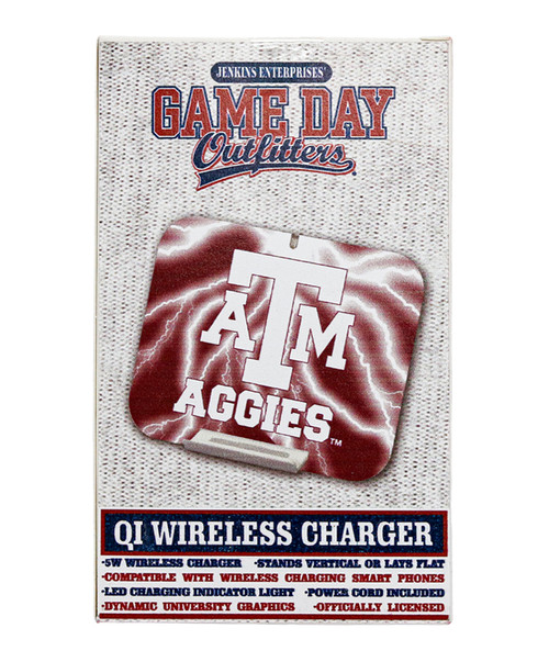 Texas A&M Aggies Wireless Charger