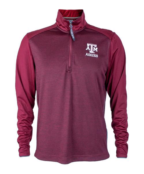 Texas A&M Aggies 1/4 Zip  Maroon Jacket