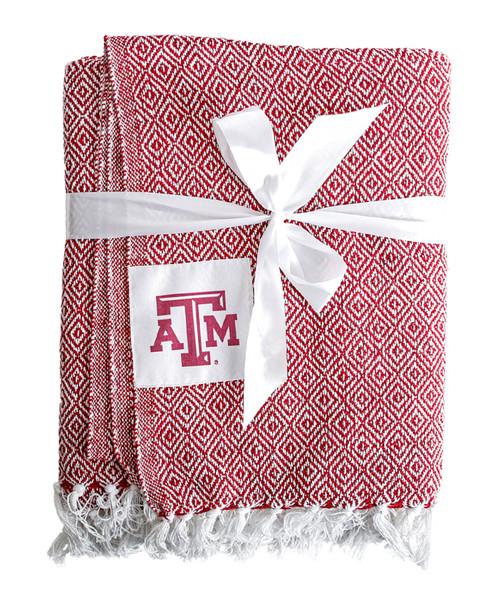 Texas A&M Aggies Farmhouse Throw