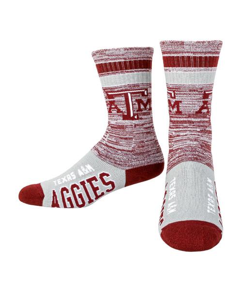Texas A&M Aggies Retro Deuce Sock