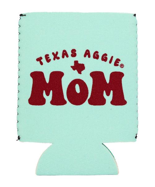 Texas A&M Aggie Mom Koozie | Ice Green