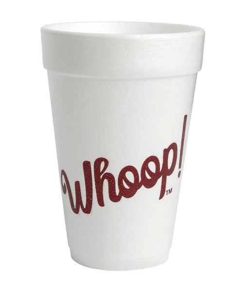 Texas A&M Aggies Whoop 10 count Sleeve Styrofoam Cups